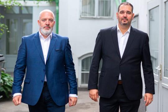 """Karl Dieter Brückner und Markus Glanzer sind """"Die Krisenplaner"""""""