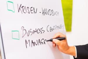 Notfall-, Krisen- und Business Continuity Management - Wann brauche ich was?
